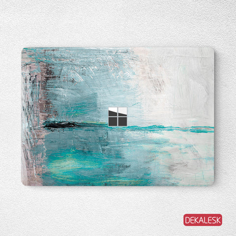 Sea and Sky- Surface Laptop Top Lid Skin - DEKALESK