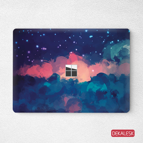 Red Cloud- Surface Laptop Top Lid Skin - DEKALESK