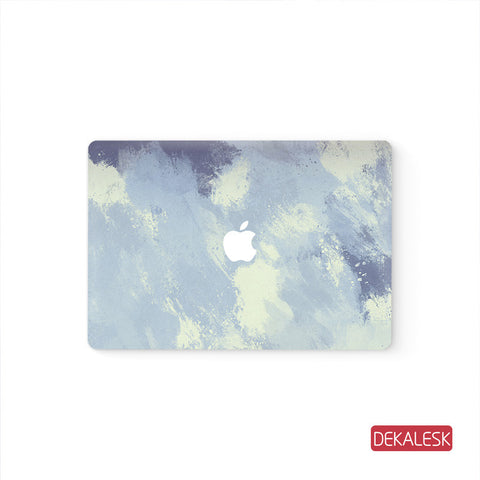 Cloud - MacBook Pro Stickers Mac Top decal  Front Cover Skin - DEKALESK
