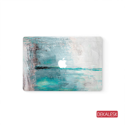 Sea  - MacBook Pro Stickers Mac Top decal  Front Cover Skin - DEKALESK