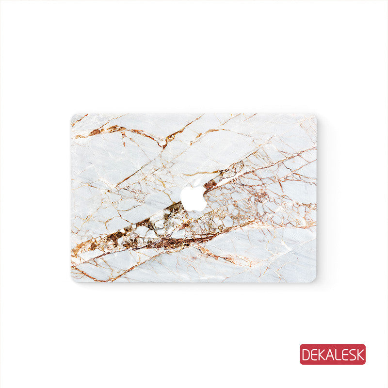 Gold Marble - MacBook Decal Air Skin Laptop Sticker - DEKALESK