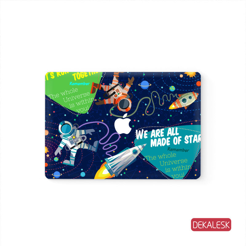UniversMan - MacBook Decal Air Skin Laptop Sticker - DEKALESK