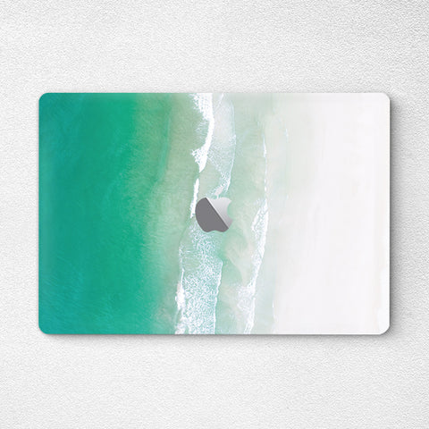 Green Sea - MacBook Pro Decal Air Skin Laptop Sticker - DEKALESK
