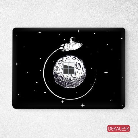 Space Tour- Surface Laptop Top Lid Skin - DEKALESK