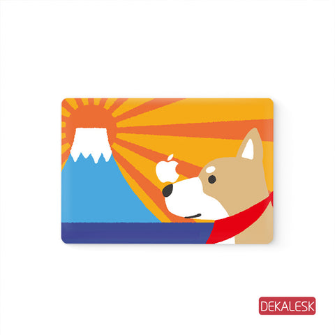 Red Dog - MacBook Decal Stickers Skin - DEKALESK