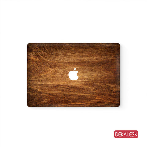 Rosewood Grain - MacBook Skin - DEKALESK