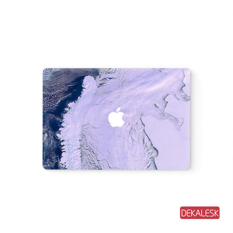 Purple - MacBook Pro Keyboard Stickers Top Skin Full Bottom Decal Protector - DEKALESK