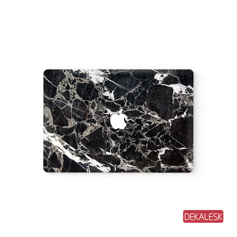 Marble  - MacBook Air Stickers Mac Top decal  Front Cover Skin - DEKALESK