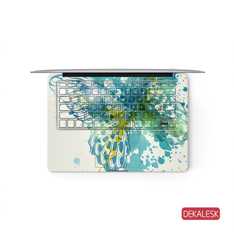 Butterfly Wings - MacBook Keyboard Skin - DEKALESK
