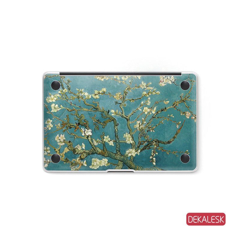 Apricot Blossoms - MacBook Bottom Skin - DEKALESK
