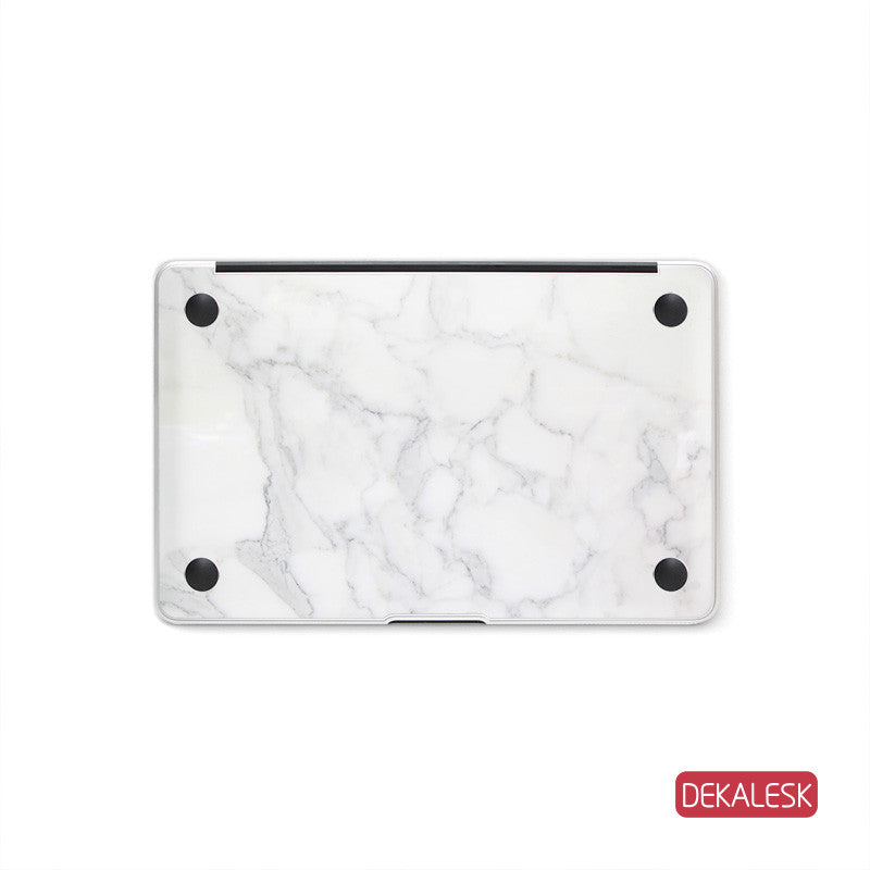 Grain Marble - MacBook Bottom Skin - DEKALESK