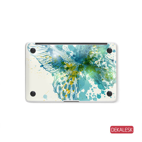 Butterfly Wings - MacBook Bottom Skin - DEKALESK