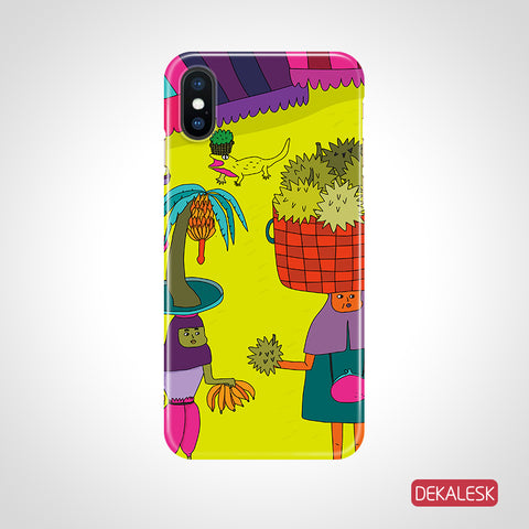 Fly to you and me- iPhone X iPhone XR iPhone 7 or 7 Plus, 6 or 6s Plus, iPhone 8 Cases - DEKALESK