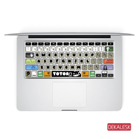 Totoro - MacBook Keyboard Stickers - DEKALESK