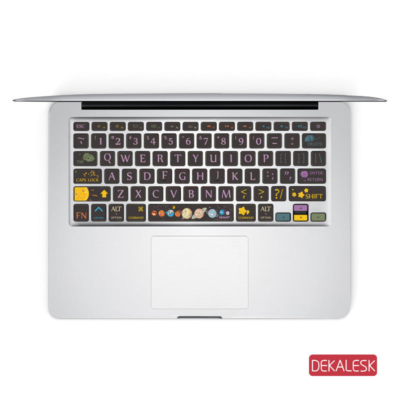Universal - MacBook Keyboard Stickers - DEKALESK