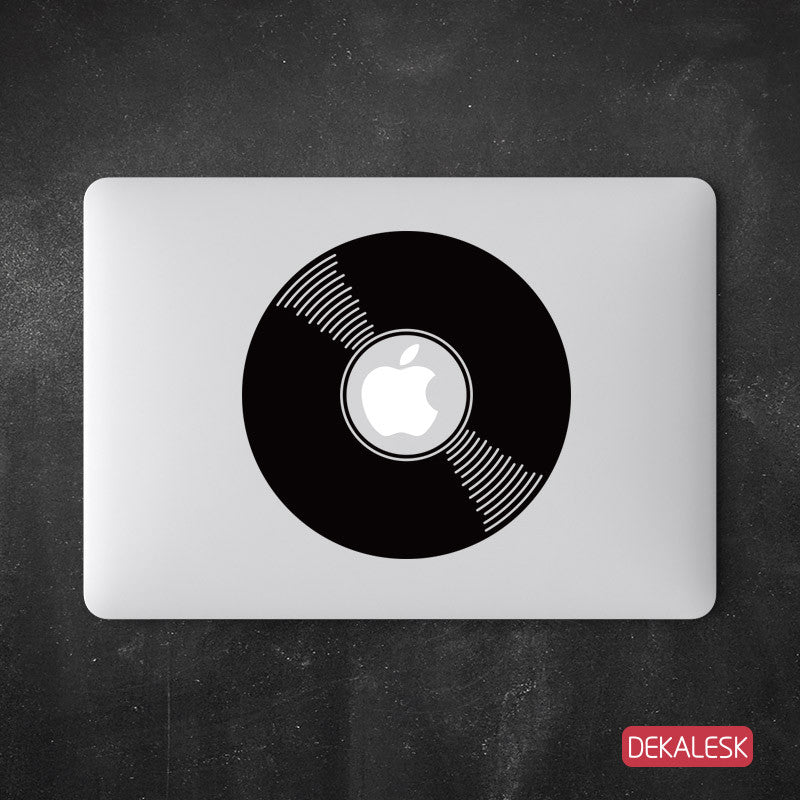 Vinyl Record - MacBook Decal - DEKALESK