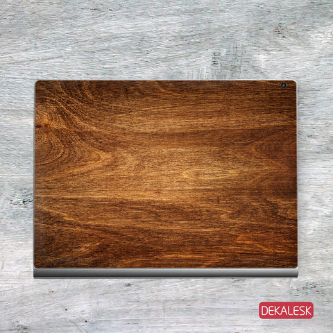 Rosewood Grain - Surface Book Skin - DEKALESK