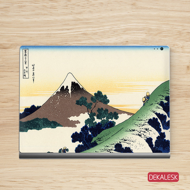 Snow Mountain - Surface Book Skin - DEKALESK