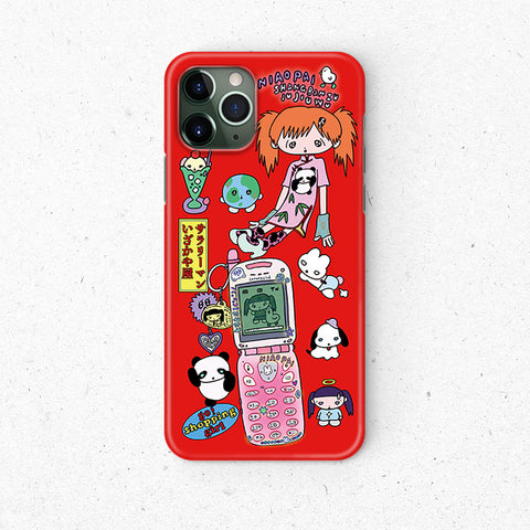 China Babe iPhone 12 Red Case