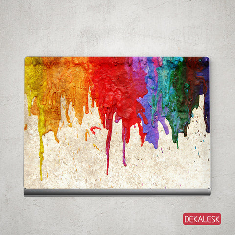 Running Paint - Surface Book Skin - DEKALESK