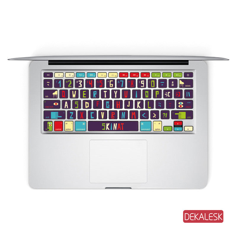 Big Eyes Monest - MacBook Keyboard Stickers - DEKALESK