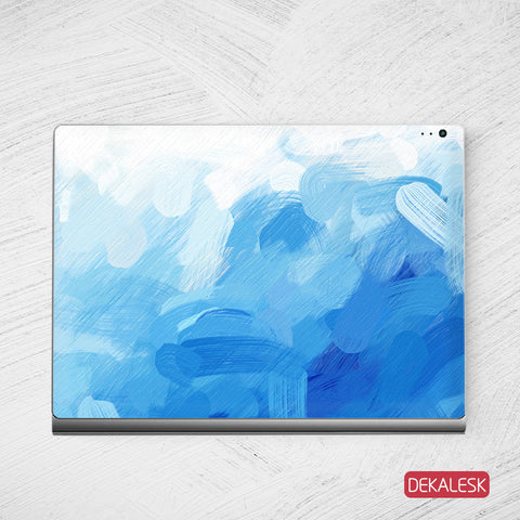 Blue Gouache - Surface Book Skin - DEKALESK
