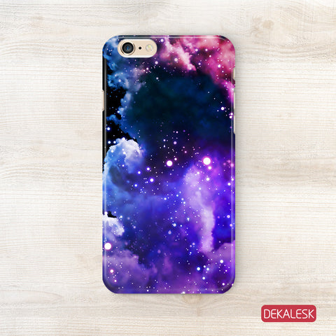 Purple Galaxy - iPhone 6/6S Cases - DEKALESK