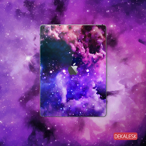 Purple Galaxy - iPad Pro Skin - DEKALESK