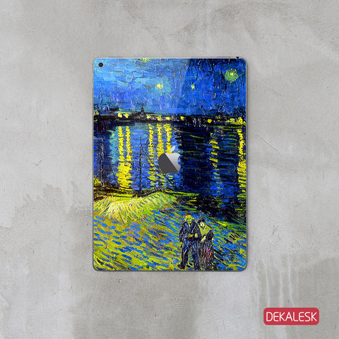 Starry Night Over The Rhone - iPad Pro Skin - DEKALESK