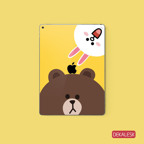 Brown Bear - iPad Pro Skin - DEKALESK