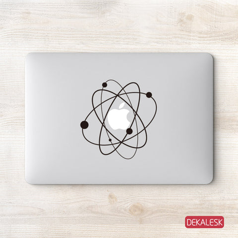 Atom - MacBook Decal - DEKALESK