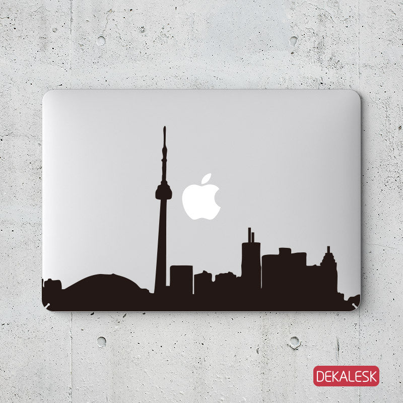 Toronto Skyline - MacBook Decal - DEKALESK
