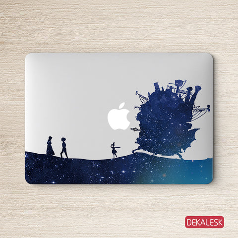 Howl's Moving Castle - MacBook Decal - DEKALESK