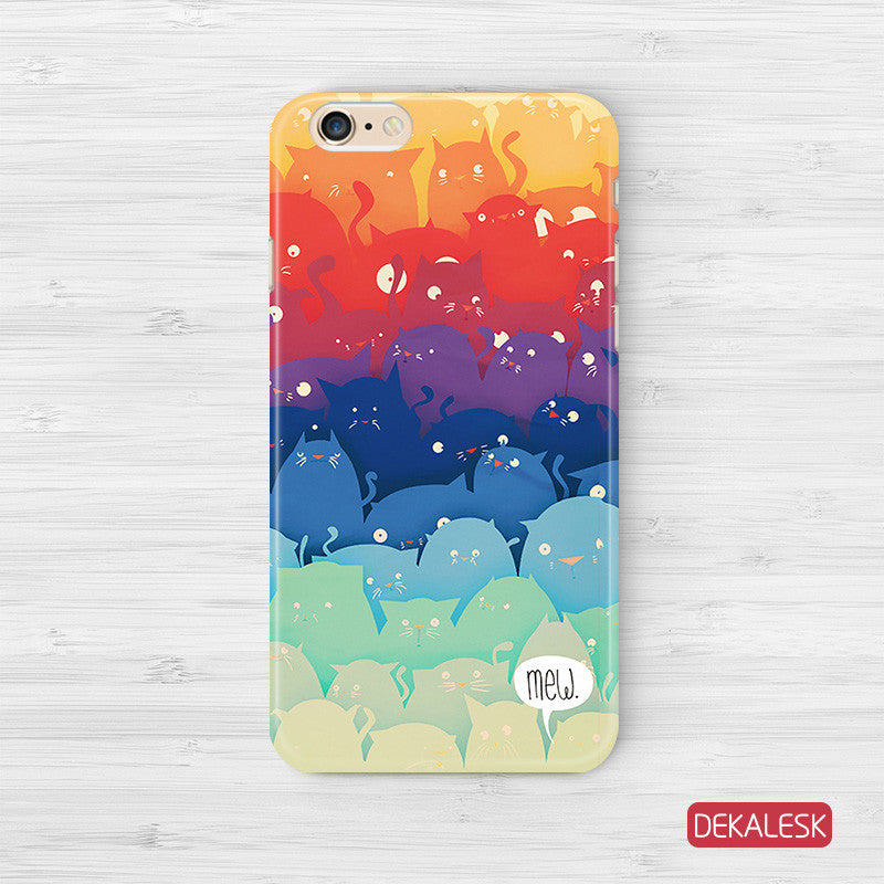 Rainbow Cats - iPhone 6/6S Cases - DEKALESK