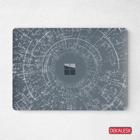 A light year- Surface Laptop Top Lid Skin - DEKALESK
