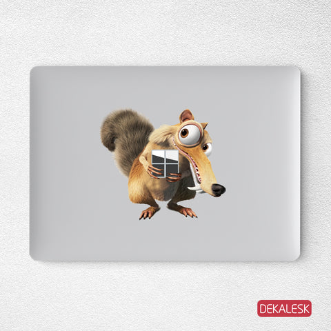 Ice Age Microsoft Surface Laptop stickers  Transparent Decal  Full Cover - DEKALESK