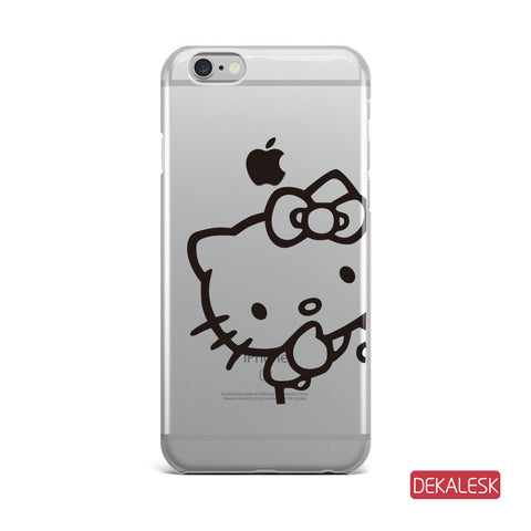Kitty - iPhone 6/6S Transparent Cases iPhone 6s/ 6s Plus / iPhone 7/ iPhone 7 Plus - DEKALESK