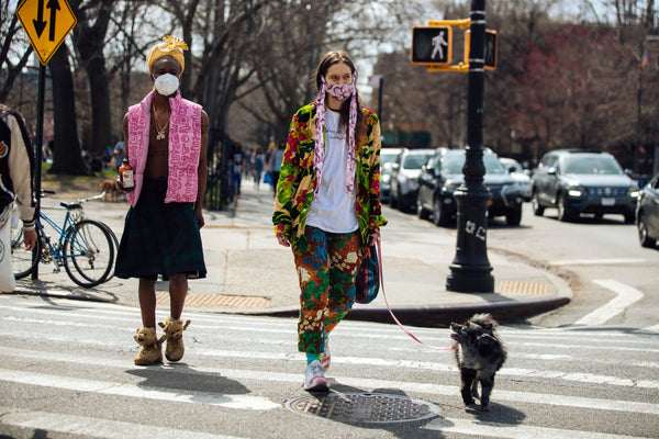 Street Style Is Blossoming Again in New York's Parks