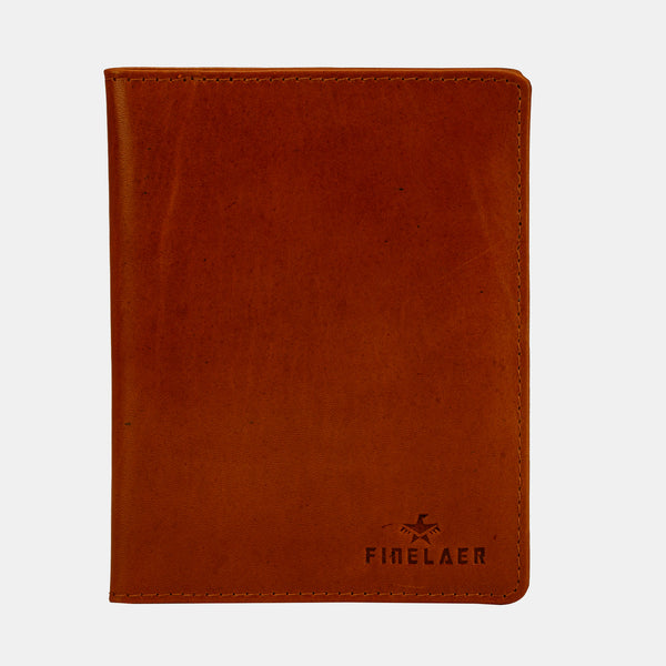 Leather Travel Passport Wallet | Finelaer