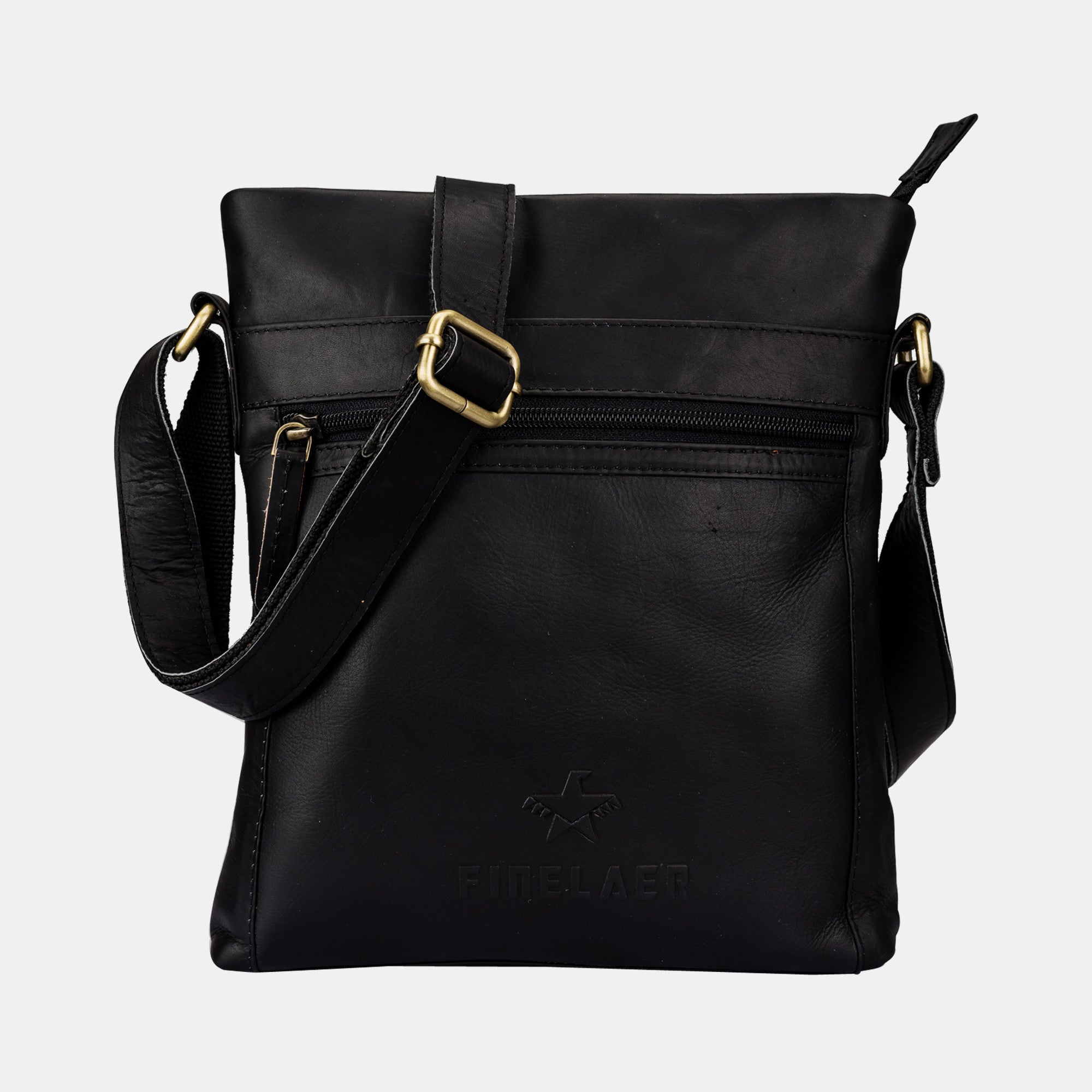 choose clearance most reliable new cheap Shop Classic Leather Crossbody Bag Black | Finelaer