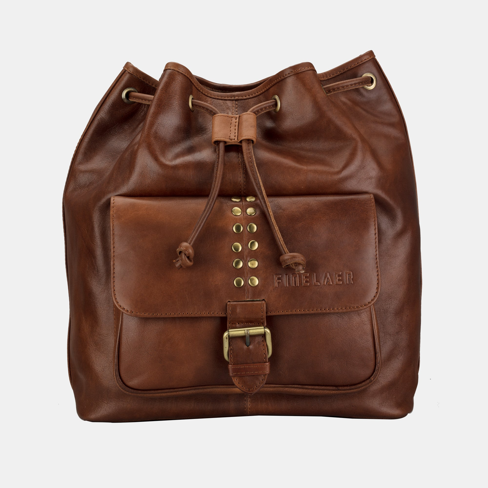 310035c6532a Women Leather Backpack College Laptop Purse Bag Brown