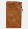 Finelaer Soft Leather iPhone 7/8 Plus Mobile Case Wallet Brown