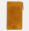 Finelaer Soft Leather iPhone 7/8 Plus Mobile Case Wallet Mustard