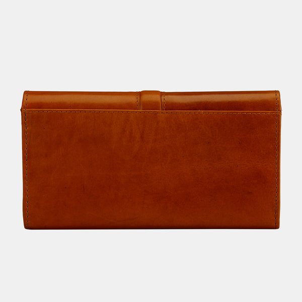 Leather Clutch Purse Envelope Card Holder Wallet | Finelaer