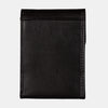 Finelaer Men Dark Brown Leather Front Pocket Card Wallet