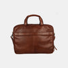 Finelaer Men Flight Bag 15.6 inch Brown Laptop Briefcase