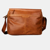 Premium Leather Laptop Messenger Bag Brown | Finelaer