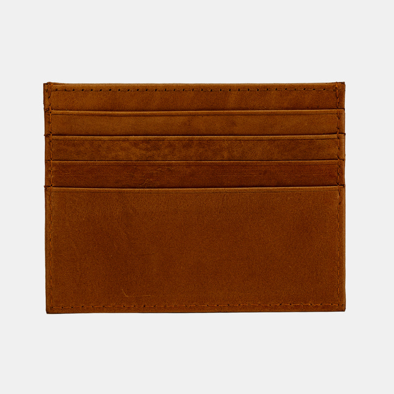 Leather Men's Front Pocket Slim RFID Card Minimalist Wallet | Finelaer