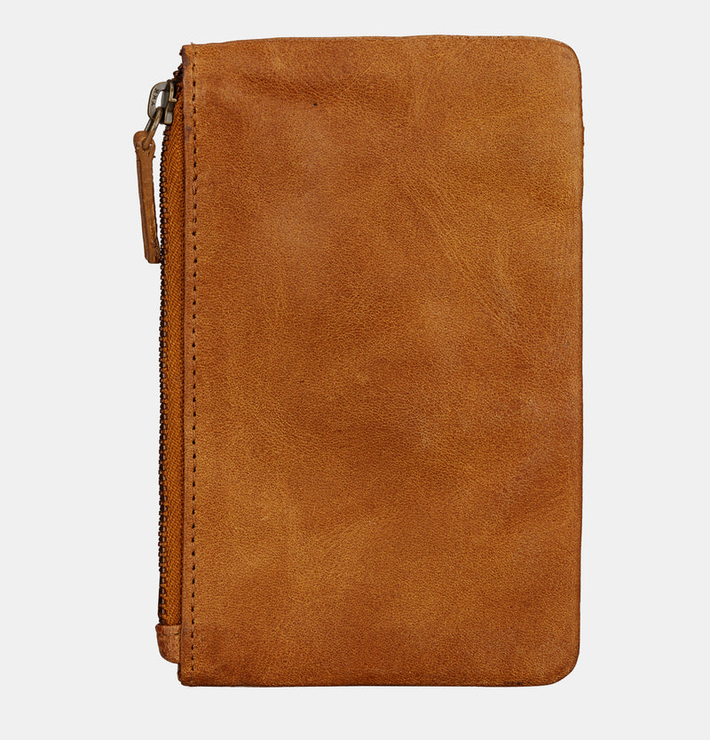 Finelaer Soft Leather iPhone 7/8 Mobile Case Wallet Brown