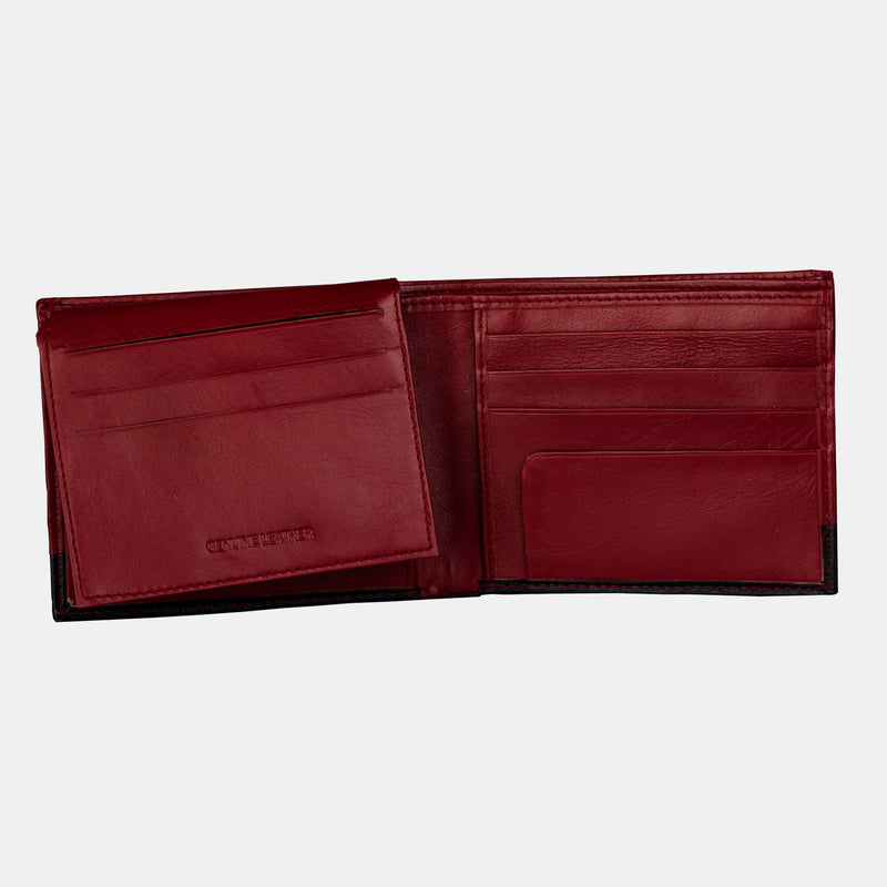 Men Slimfold Premium Leather Billfold Wallet | Finelaer